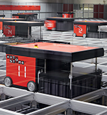 Autostore is an entirely automatized storage and product selection solution